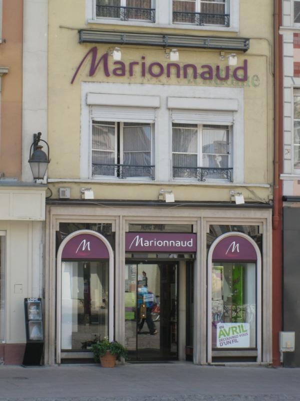 Marionnaud mulhouse vitrines de mulhouse - Chambre des commerces mulhouse ...