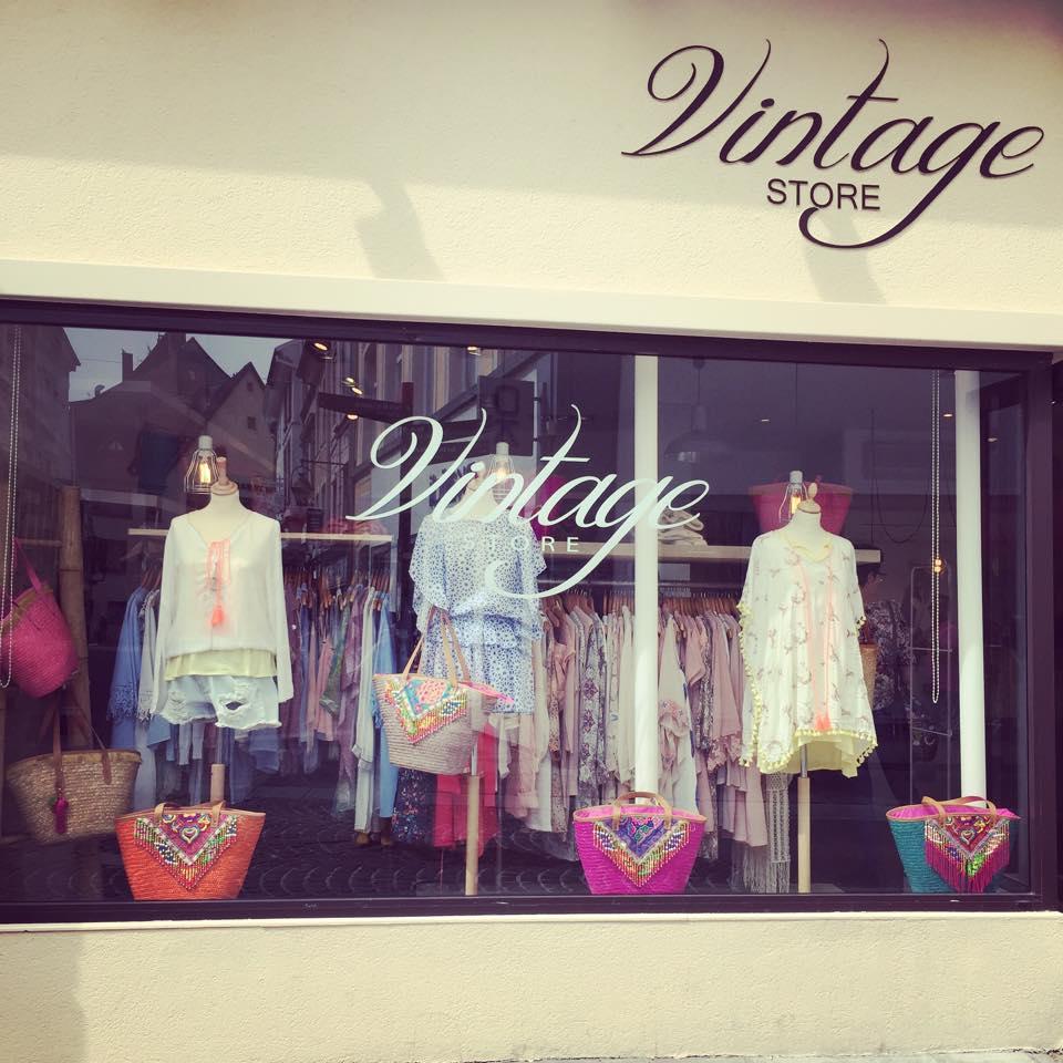 vintage store - mulhouse | vitrines de mulhouse